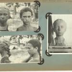 Bērnībā radītais darbs - modele un portrets.