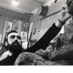 Игорь Васильев в Академии художеств, начало 70-х годов.